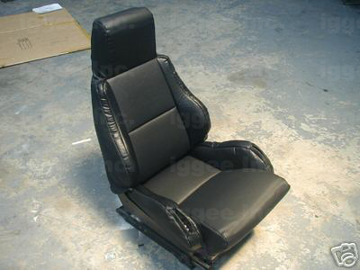 Chevy Corvette C4 1984 1993 Leather Like Seat Cover Ebay