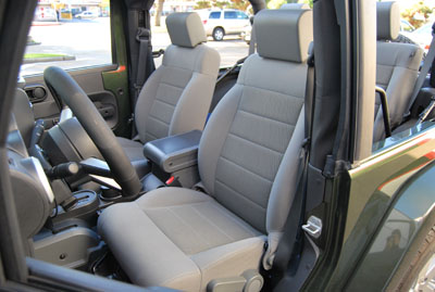 Jeep Wrangler 2007 2012 Iggee S Leather Custom Seat Cover