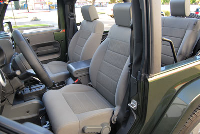 jeep wrangler 2007 2012 iggee s leather custom seat cover 13colors available ebay. Black Bedroom Furniture Sets. Home Design Ideas