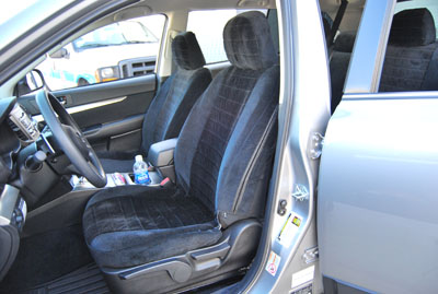 subaru legacy outback 2009 2010 custom made seat covers. Black Bedroom Furniture Sets. Home Design Ideas