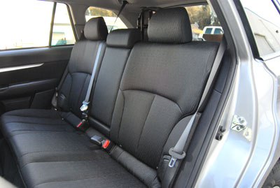 subaru legacy outback 2009 2010 custom made seat covers ebay. Black Bedroom Furniture Sets. Home Design Ideas