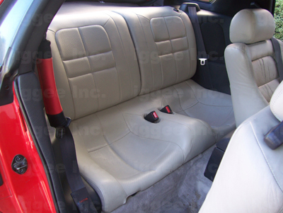 Mitsubishi 3000gt 91 99 Leather Like Custom Seat Cover Ebay