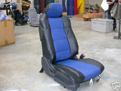 NISSAN 350Z 2003 2014 S LEATHER CUSTOM FIT SEAT COVER