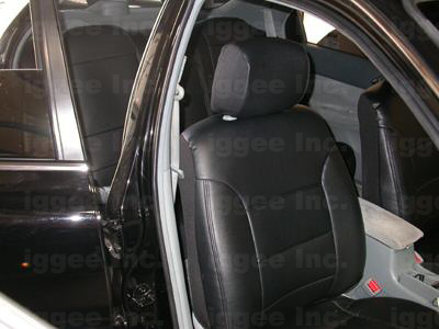 honda accord 2003 2012 iggee s leather custom fit seat cover 13colors available ebay. Black Bedroom Furniture Sets. Home Design Ideas