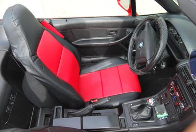 Bmw Z3 1996 2002 Leather Like Custom Seat Cover Ebay