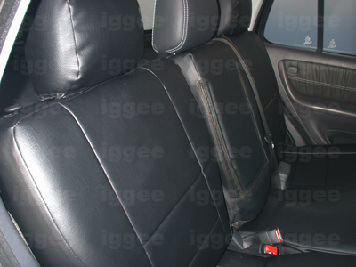 Mercedes benz ml 320 430 1998 2002 iggee s leather custom for Mercedes benz replacement seat covers
