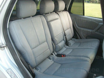 Mercedes benz ml 320 430 1998 2002 leather like seat cover for Mercedes benz replacement seat covers