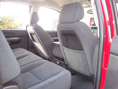 CHEVY AVALANCHE 2007-2012 LEATHER-LIKE CUSTOM SEATCOVER | eBay