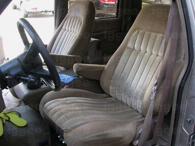 Chevy Suburban 1992 1999 Leather Like Custom Seat Cover Ebay