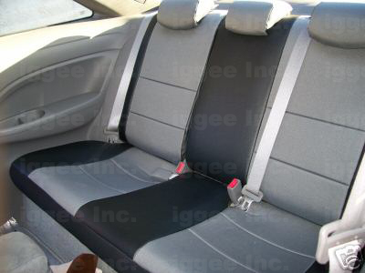 MAZDA 3 2004 2012 IGGEE SLEATHER CUSTOM FIT SEAT COVER 13