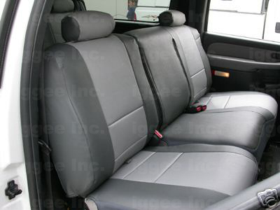 ford expedition 1997 2002 leather like custom seatcover ebay. Black Bedroom Furniture Sets. Home Design Ideas