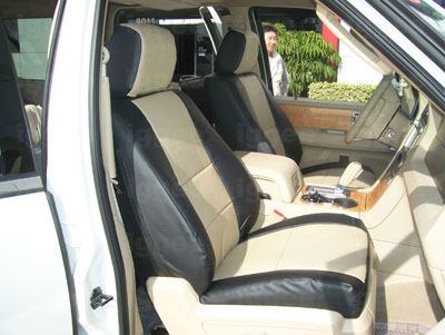 ford expedition 2007 2008 2009 2010 2011 2012 vinyl custom seat cover ebay. Black Bedroom Furniture Sets. Home Design Ideas