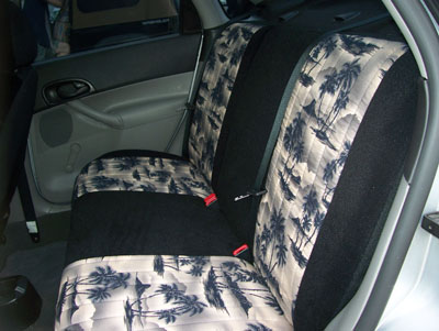 ford focus 2000 2008 custom seat cover covers ebay. Black Bedroom Furniture Sets. Home Design Ideas