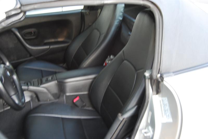 Mazda Miata Seat Covers Leather Velcromag