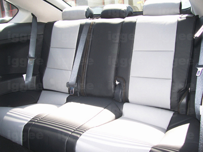 scion tc 2005 2010 leather like custom made fit seat cover. Black Bedroom Furniture Sets. Home Design Ideas