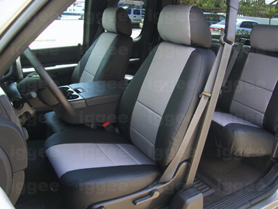 CHEVY AVALANCHE 2007-2012 IGGEE S.LEATHER CUSTOM SEAT ...