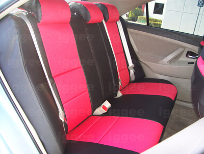 toyota camry 2007 2011 iggee s leather custom fit seat cover 13 colors available ebay. Black Bedroom Furniture Sets. Home Design Ideas