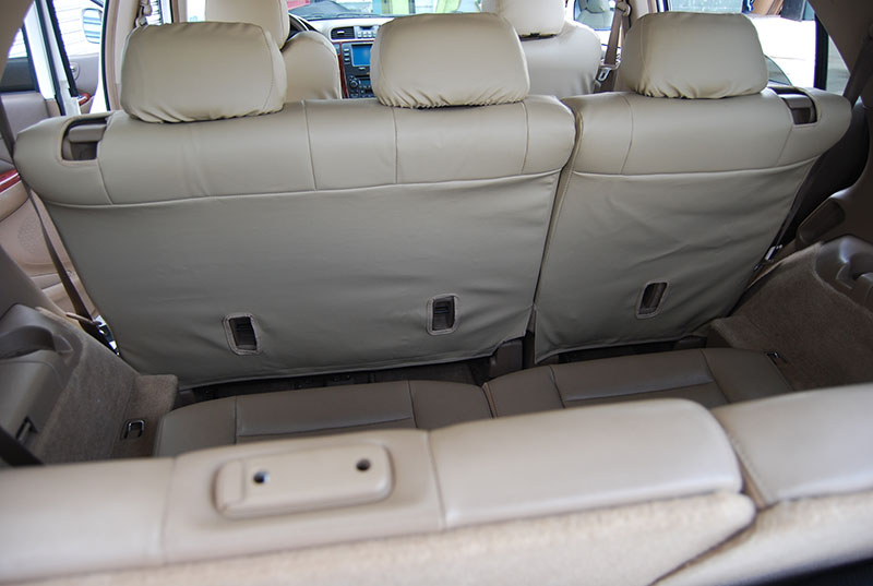 ACURA MDX 2001-2006 IGGEE S.LEATHER CUSTOM FIT SEAT COVER