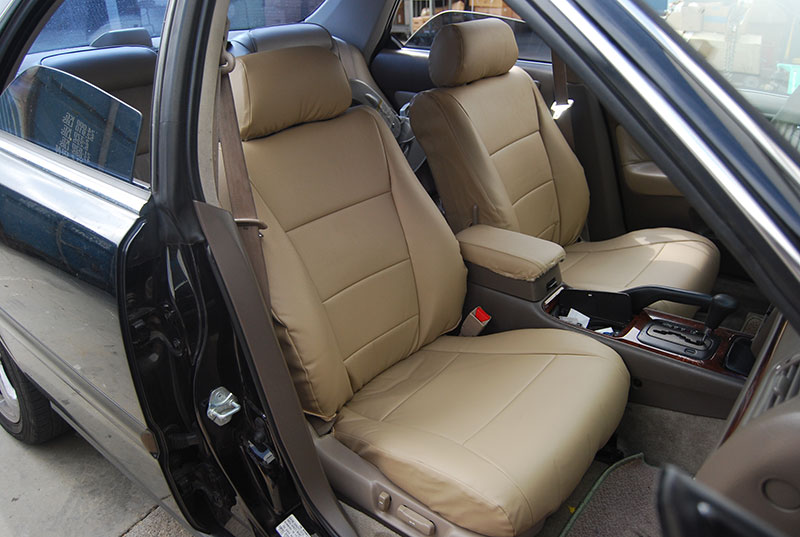 ACURA TL 1995 1998 IGGEE SLEATHER CUSTOM FIT SEAT COVER
