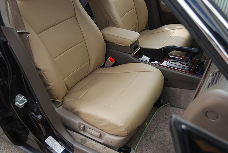 ACURA TL 1995-1998 IGGEE S.LEATHER CUSTOM FIT SEAT COVER ...