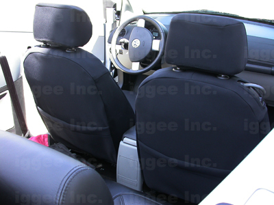 vw beetle   leather  custom fit seat cover ebay