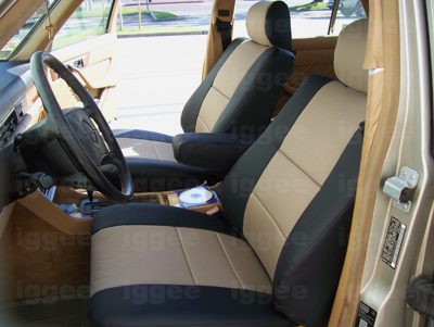 Mercedes benz 300ce 1990 1993 leather like seat cover ebay for Seat covers mercedes benz
