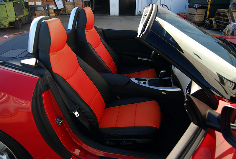 Bmw Z4 2009 2015 Iggee S Leather Custom Fit Seat Cover 13 Colors Available Ebay