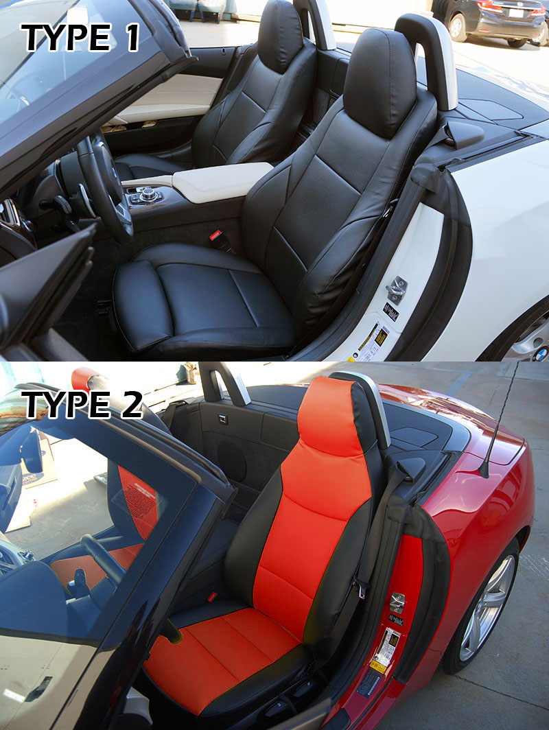 Bmw Z4 2009 2015 Leather Like Custom Seat Cover 13 Colors