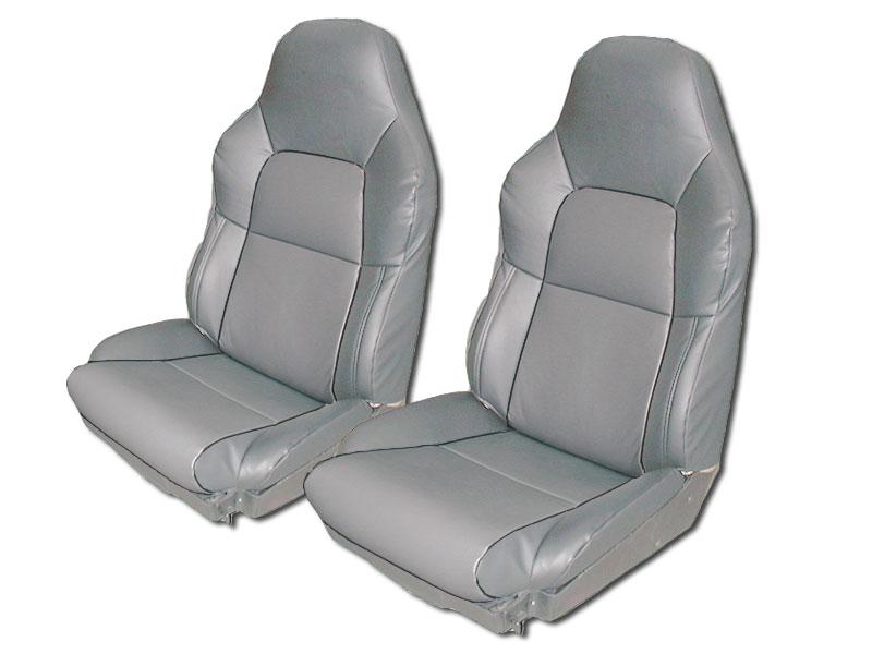 Chevy Corvette C4 Standard 1994 1996 Grey Leather Like