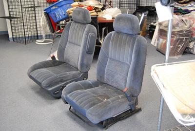 Surprising Chevy Monte Carlo 2000 2007 S Leather Custom Seat Cover On Inzonedesignstudio Interior Chair Design Inzonedesignstudiocom
