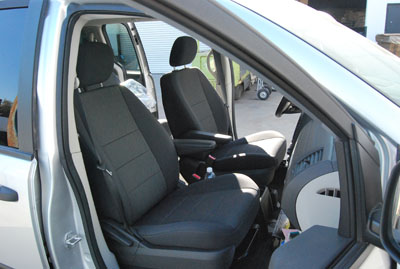 dodge journey 2011 2014 leather like custom seat cover ebay. Black Bedroom Furniture Sets. Home Design Ideas
