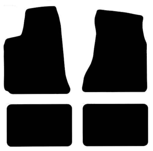 CHRYSLER 300 2005-2010 CUSTOM FIT FLOOR MAT MATS 4PCS