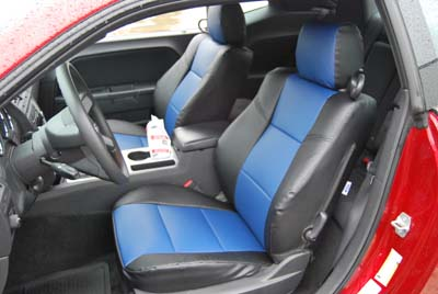 DODGE CHALLENGER 2008 2012 IGGEE SLEATHER CUSTOM SEAT