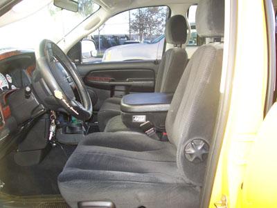 Dodge Ram 1500 2500 3500 2003 2008 Vinyl Custom Seat Cover