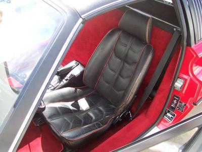 Ferrari 308 Vinyl Custom Seat Cover Ebay