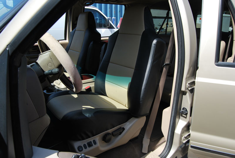 Leather Seat Covers For 2000 Ford Excursion