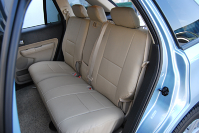 ford edge 2007 2014 leather like custom fit seat cover ebay. Black Bedroom Furniture Sets. Home Design Ideas