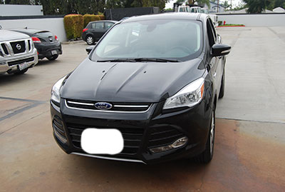 ford escape 2013 2014 leather like custom seat cover ebay. Black Bedroom Furniture Sets. Home Design Ideas