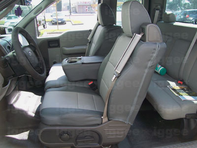2004 Ford F150 Seat Covers >> FORD F-150 F-250 F-350 2004-2012 VINYL CUSTOM SEAT COVER ...