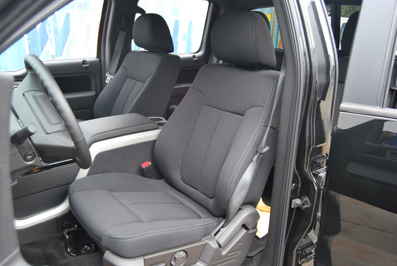ford f 150 2009 2014 iggee s leather custom fit seat cover 13 colors available. Black Bedroom Furniture Sets. Home Design Ideas