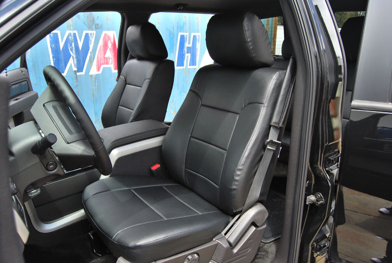 FORD F 150 2009 2012 LEATHER LIKE CUSTOM SEAT COVER