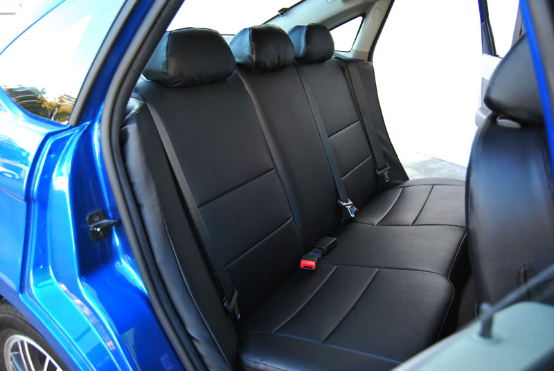 ford focus 2009 2015 iggee s leather custom fit seat cover 13 colors available ebay. Black Bedroom Furniture Sets. Home Design Ideas