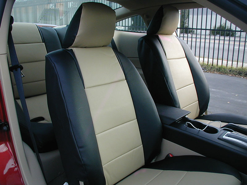 FORD MUSTANG 2005 2014 IGGEE SLEATHER CUSTOM FIT SEAT
