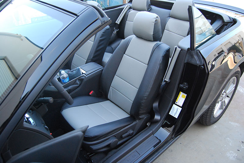 FORD MUSTANG 2005 2012 IGGEE SLEATHER CUSTOM FIT SEAT