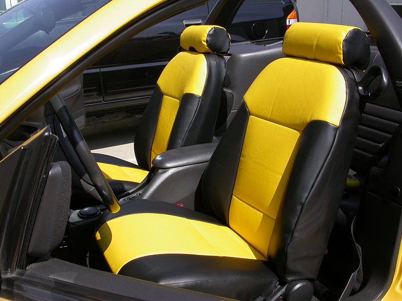ford mustang 1994 2004 iggee s leather custom fit seat cover 13colors available ebay. Black Bedroom Furniture Sets. Home Design Ideas