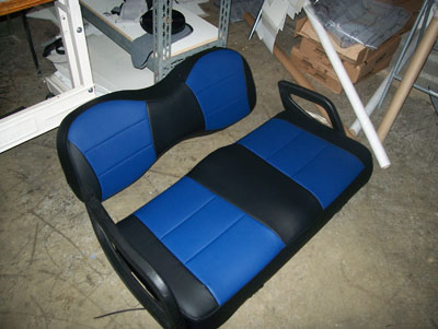 Yamaha Golf Cart Iggee S Leather Custom Fit Seat Cover 13