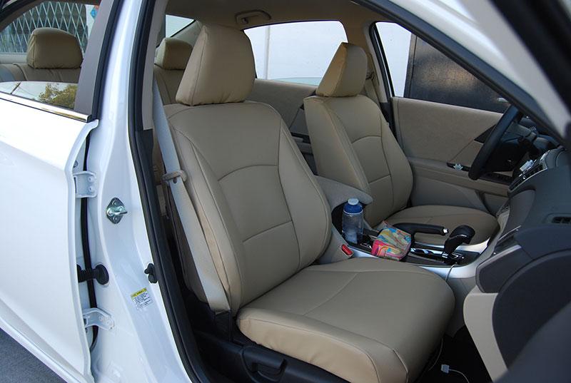 honda accord   model iggee sleather custom fit seat cover colors ebay