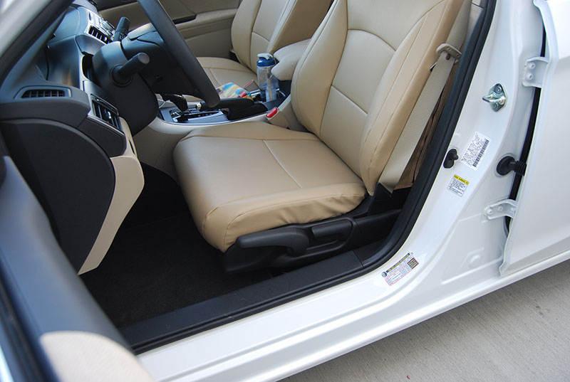 honda accord 2013 2016 new model leather like custom seat cover ebay. Black Bedroom Furniture Sets. Home Design Ideas