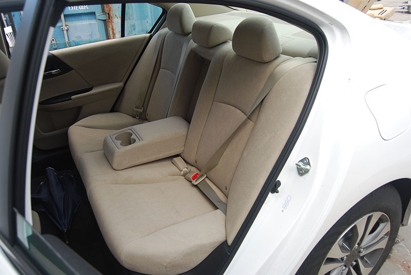 honda accord 2013 2016 new model iggee s leather custom fit seat cover 13colors ebay. Black Bedroom Furniture Sets. Home Design Ideas