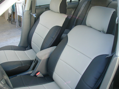 honda civic 2003 2005 iggee s leather custom fit seat. Black Bedroom Furniture Sets. Home Design Ideas